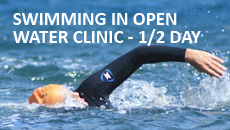 Swimming in Open Water Clinic - 1/2 day