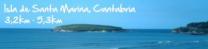 1st Santa Marina Island (Cantabria) - Swim the Wolrd