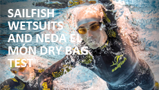 Test Sailfish wetsuits and NeM buoys