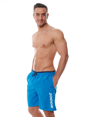 Men Swimsuit Blue Reef Merimbula Shorts by Zoggs