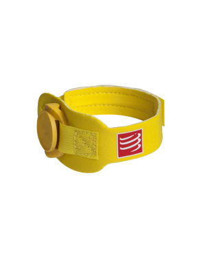 Yellow Chip with Compressport Chip band
